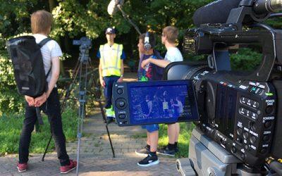 Studenten ROC Rivor maken filmopnames bij Avri voor Werkzaak Rivierenland