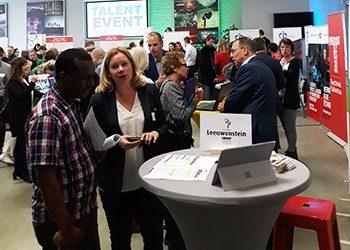 Talent Event Rivierenland drukbezocht Ruim 600 werkzoekenden ontmoeten 50 werkgevers