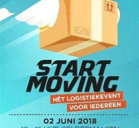 Start moving, het logistieke event voor iedereen!