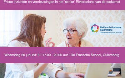 Inspiratiebijeenkomst Ouder Worden & Innovatie
