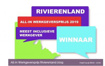 Wie is de meest inclusieve werkgever van Rivierenland?