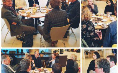 Ministerie van Economische Zaken op bezoek bij Werkzaak Rivierenland