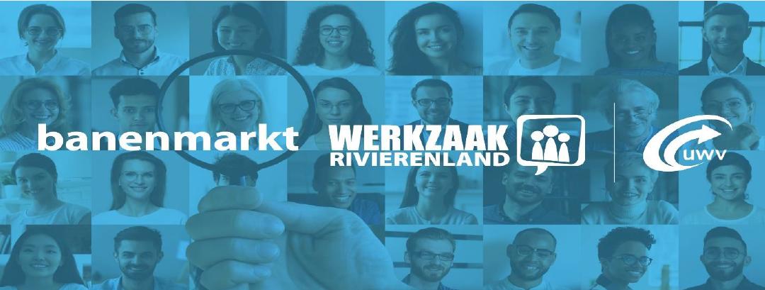 Werkgevers opgelet: online banenmarkt in Rivierenland!